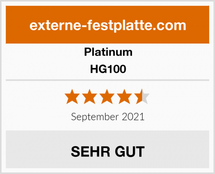 Platinum HG100 Test