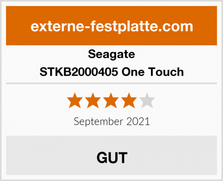 Seagate STKB2000405 One Touch Test
