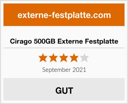 Cirago 500GB Externe Festplatte Test