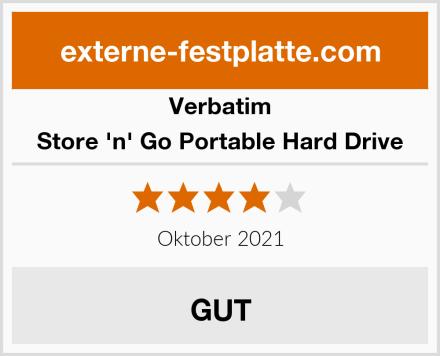 Verbatim Store 'n' Go Portable Hard Drive Test