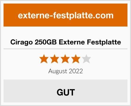 Cirago 250GB Externe Festplatte Test