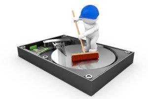 Externe Festplatte pflegen und reinigen