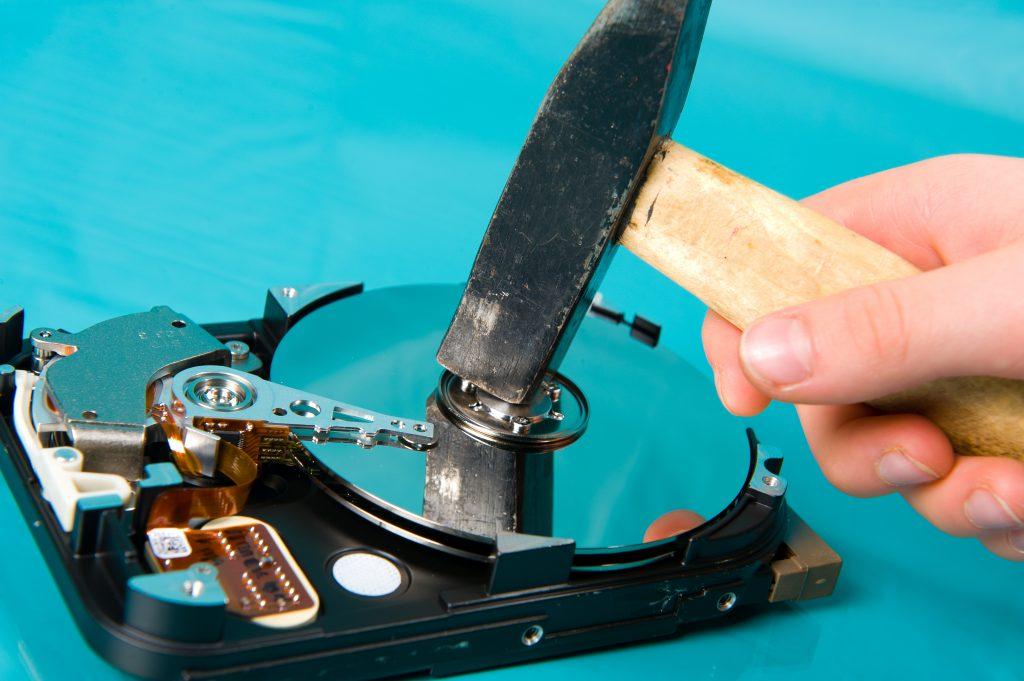 Festplatte Entsorgen
