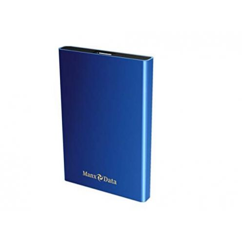 ManxData 500GB Blau Festplatte