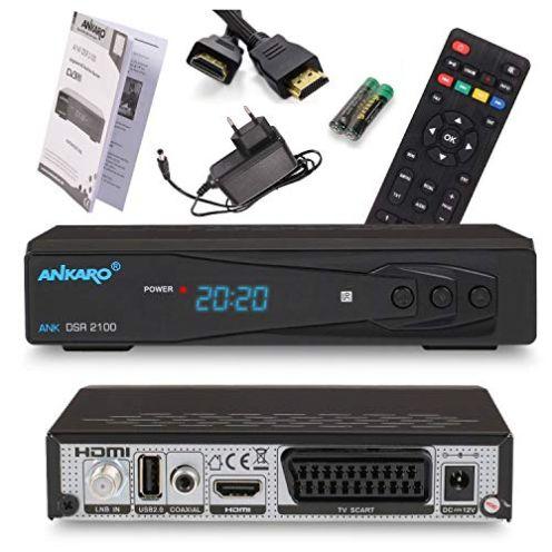 Ankaro 2100 DSR Sat-Receiver