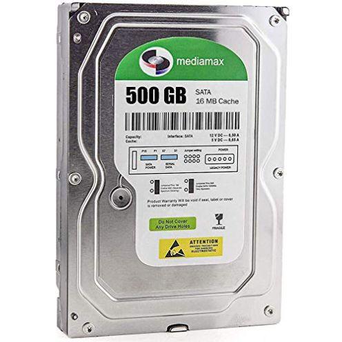 Mediamax 500GB Interne HDD Festplatte